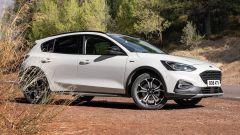 Nuova Ford Focus Active Wagon, un quasi-Suv - Immagine: 7
