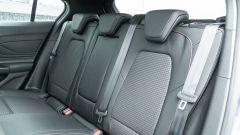 Nuova Ford Focus EcoBoost Hybrid ST Line X: il divanetto posteriore