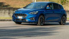 Nuova Ford Focus EcoBoost Hybrid ST Line X: la prova su strada