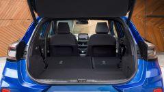 Nuova Ford Puma 2020: il bagagliaio con gli schienali abbattuti