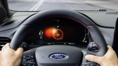 Nuova Ford Puma 2020: la schermata della modalità di guida Sport