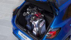 Nuova Ford Puma 2020: nel baule ci stanno due sacche da Golf
