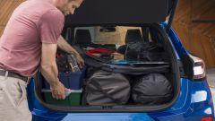 Nuova Ford Puma 2020: prova di carico del bagagliaio