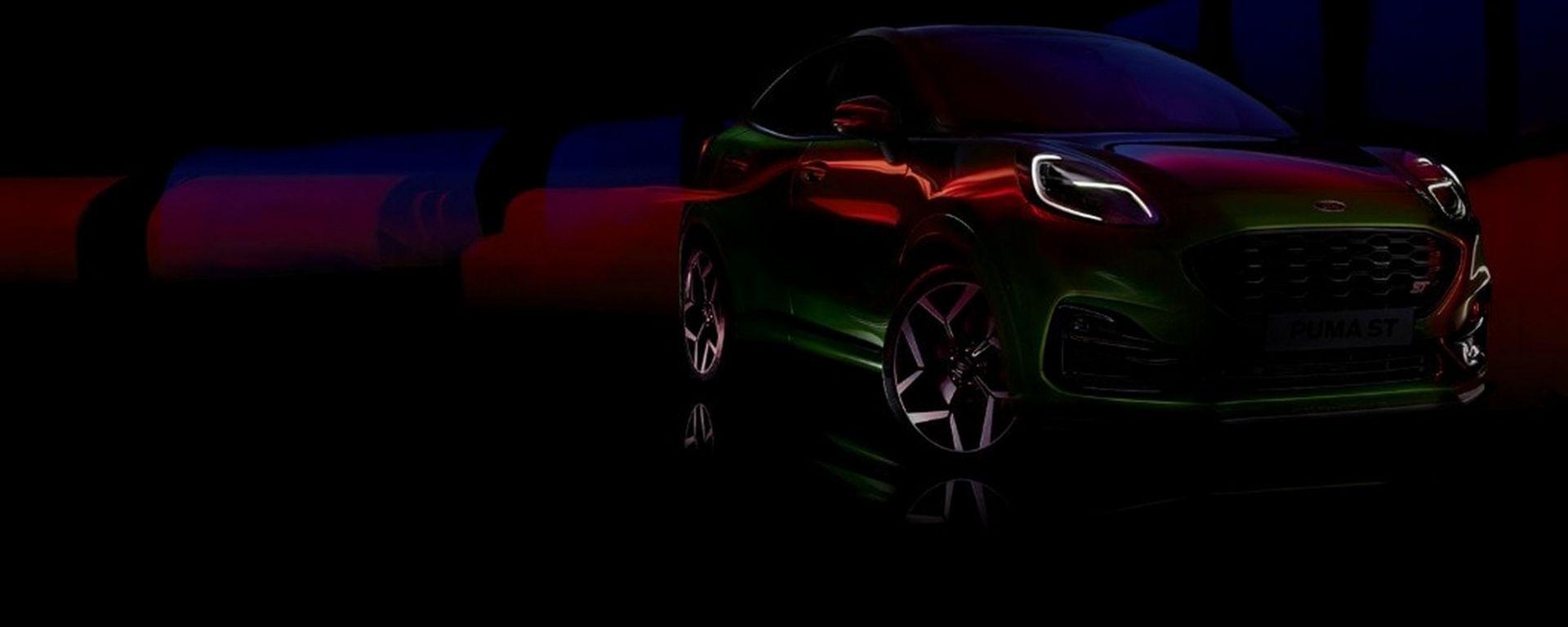 Nuova Ford Puma ST, il teaser ufficiale
