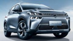 SUV EV GAC Aion V, ricarica in 8 minuti. Le batterie? Al grafene