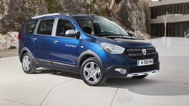 Nuova gamma Dacia GPL 2020: la nuova Lodgy Stepway