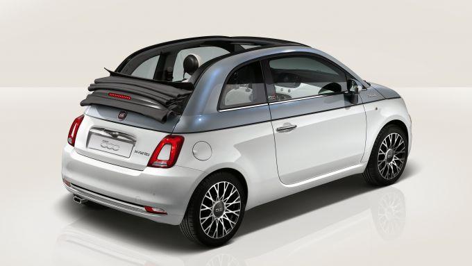 Nuova gamma Fiat 500 2021: la 500C Dolcevita bi-colore