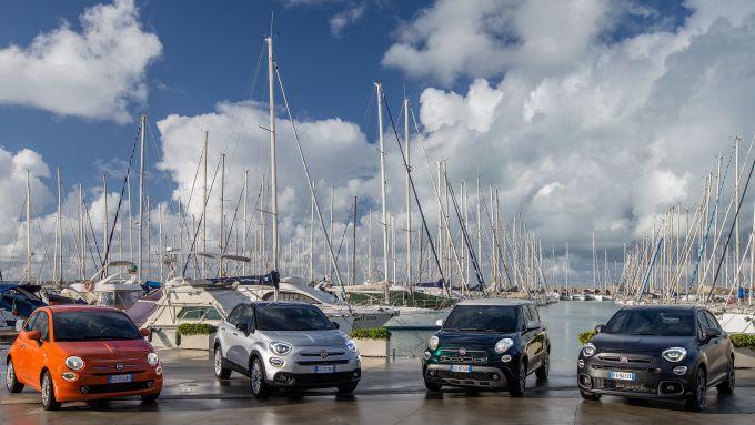 Nuova gamma Fiat 500 2021: la famiglia intera schierata