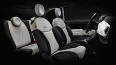 Nuova gamma Fiat 500 2021: l'abitacolo della 500 Dolcevita