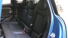 Nuova gamma Mini 2021: il sedile posteriore della Cooper S 5 porte