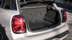 Nuova gamma Mini 2021: il vano bagagli non è molto voluminoso