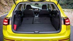 Nuova Golf 8, vano bagagli delle stesse dimensioni di Golf 7