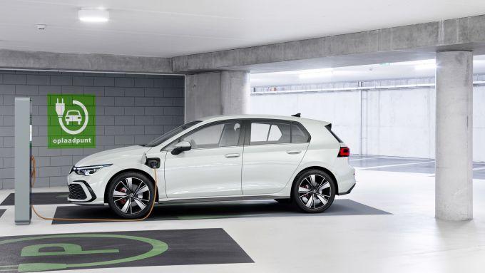 Nuova Golf GTE elettrica