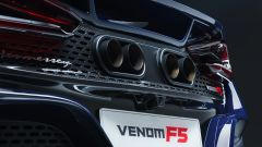 Nuova Hennessey Venom F5: la batteria di tubi di scarico