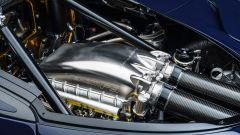 Nuova Hennessey Venom F5: una vista del motore V8 biturbo