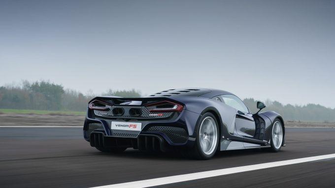 Nuova Hennessey Venom F5: velocità massima di oltre 500 km/h