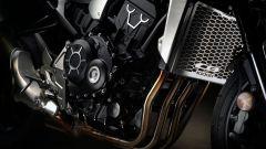 Nuova Honda CB1000R 2018: dettaglio del radiatore