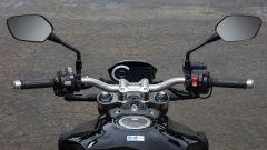Nuova Honda CB1000R 2018: il manubrio