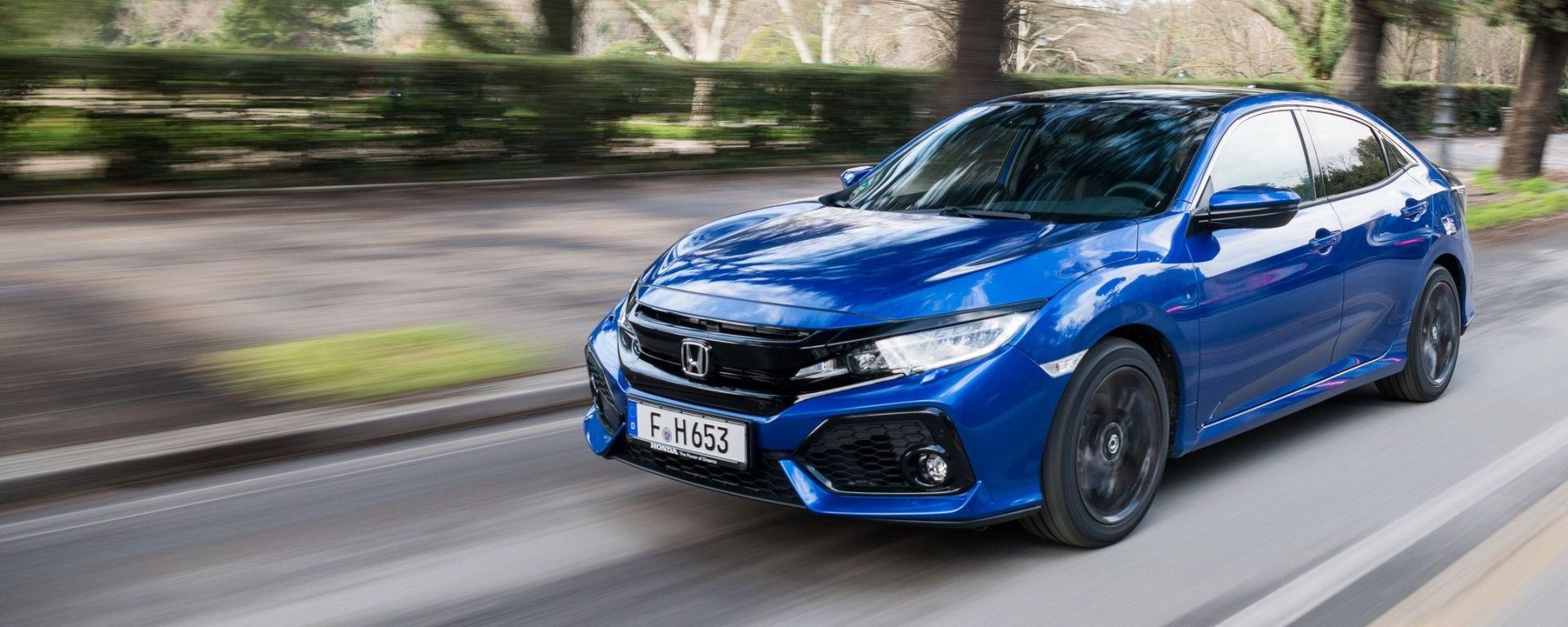 Nuova Honda Civic 1.6 i-DTEC: la prova su strada del diesel