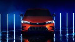 Nuova Honda Civic 2021: il frontale del prototipo