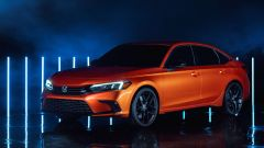 Nuova Honda Civic 2021: il modello di serie è quasi uguale al prototipo