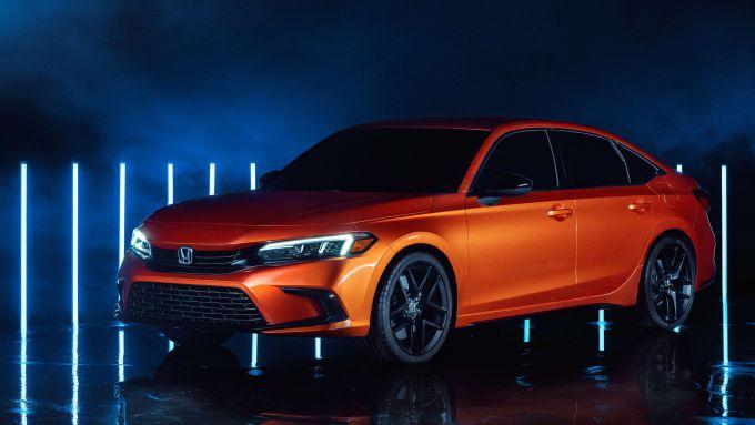 Nuova Honda Civic 2021: il prototipo presentato a novembre 2020