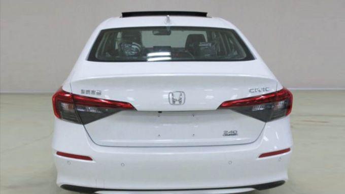 Nuova Honda Civic 2021: le foto arrivano dalle autorità cinesi