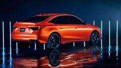 Nuova Honda Civic 2021: linee meno spigolose di prima