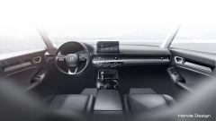 Nuova hondA Civic 2021 prototipo: il bozzetto degli interni