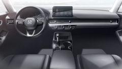 Nuova Honda Civic 2021: un'immagine dell'abitacolo