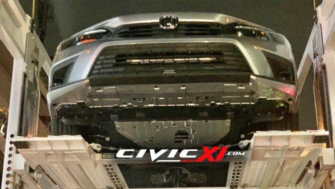 Nuova Honda Civic 2022: il frontale
