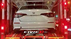 Nuova Honda Civic 2022: il posteriore