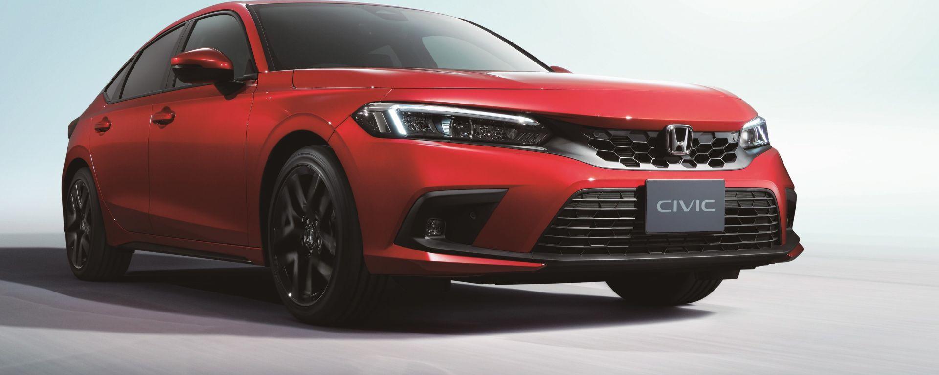 Nuova Honda Civic 5 porte: appuntamento al 2022