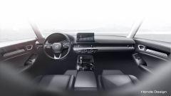 Nuova Honda Civic concept, gli interni