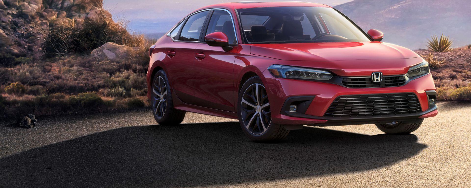 Nuova Honda Civic Sedan, prima foto ufficiale