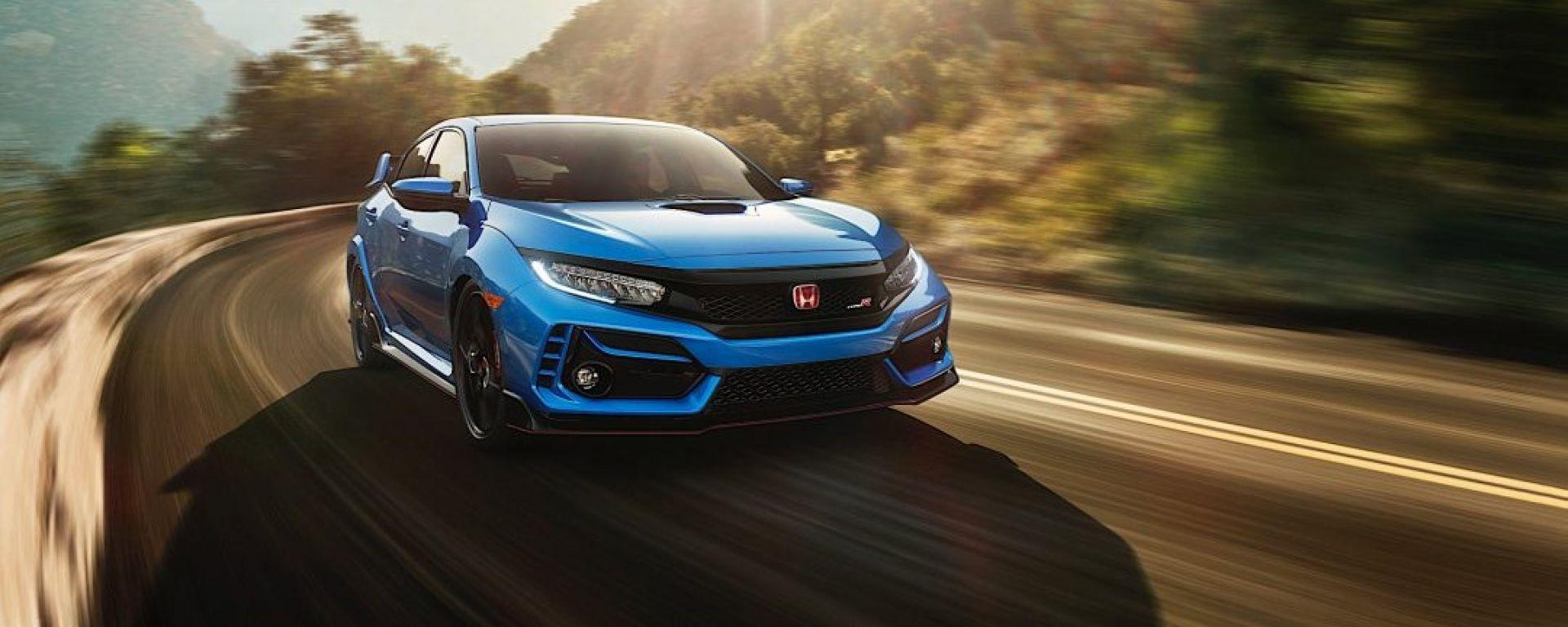 Nuova Honda Civic Type-R 2020: arriva il facelift