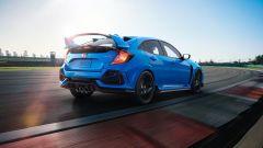 Nuova Honda Civic Type-R 2020: la grande ala posteriore