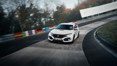 Nuova Honda Civic Type R al Nurburgring
