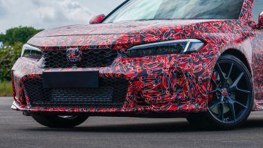 Nuova Honda Civic Type R: il frontale