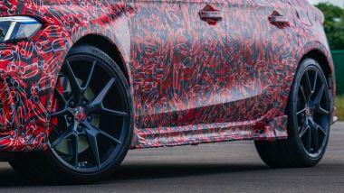 Nuova Honda Civic Type R: la fiancata