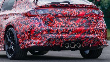 Nuova Honda Civic Type R: lo sportivo posteriore