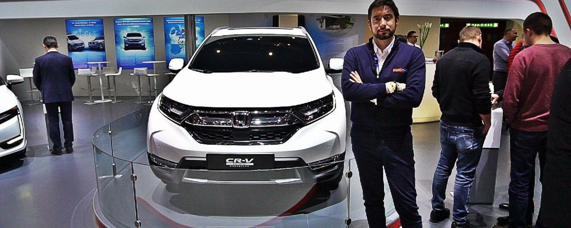 Nuova Honda CR-V Hybrid, Live dal Salone di Ginevra 2018