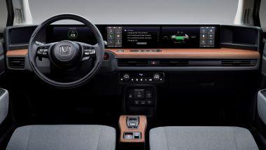 Nuova Honda e gli interni