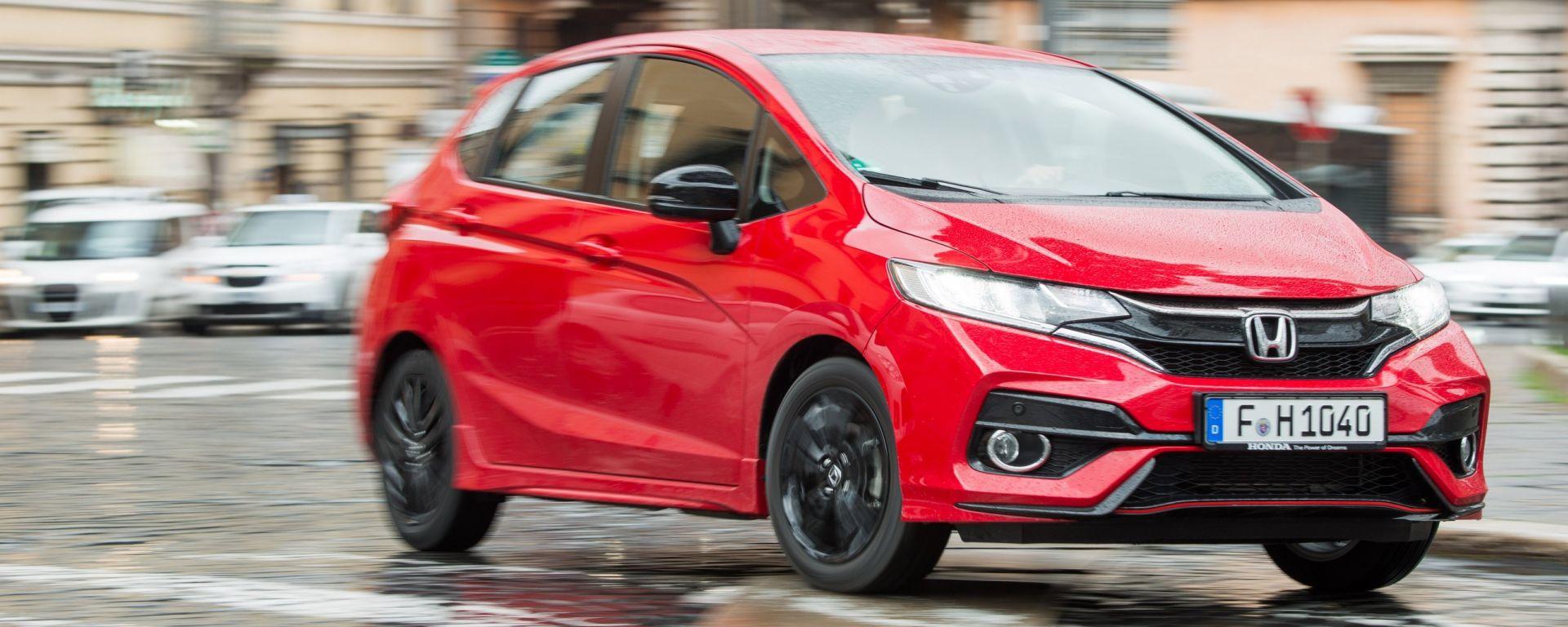 Nuova Honda Jazz 2018: la prova del 1.5 i-VTEC Dynamic