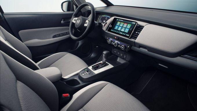 Nuova Honda Jazz 2020, l'abitacolo