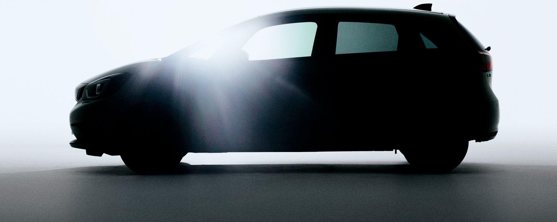 Nuova Honda Jazz 2020: l'immagine teaser