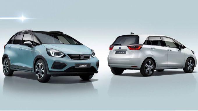 Nuova Honda Jazz 2020: sarà ibrida, anche in versione Suv/Crossover