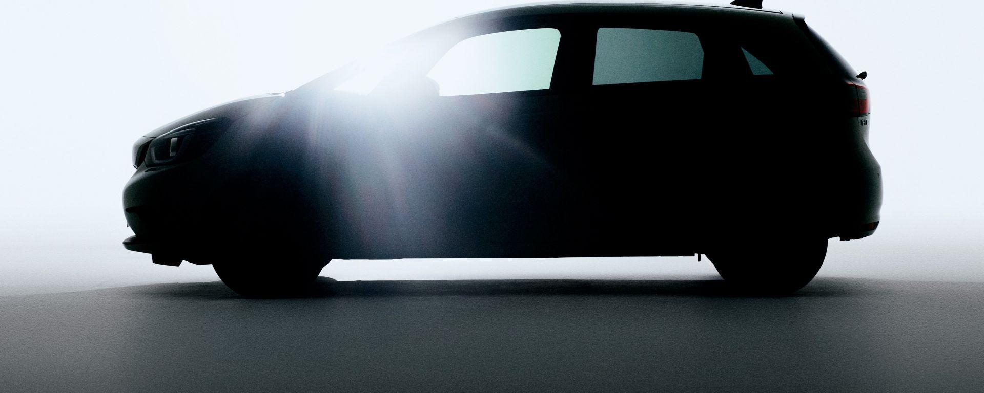 Nuova Honda Jazz 2020, un teaser prima del debutto