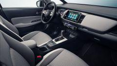 Nuova Honda Jazz 2020: una vista parziale dei sedili e della plancia
