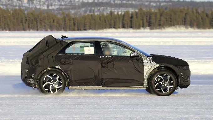Nuova Hyundai 45 2021: le coperture celano uno stile retrò